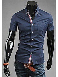 Casual gaine shirt debe hommes