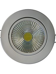 9W 1xCOB 800LM 6000K blanco LED luces de techo