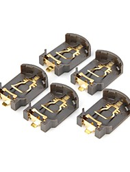 Support de batterie DIY pour CR2032 Pile - Brown (5 PCS)