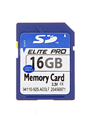 alta qualidade cartão de memória SD para dispositivos móveis e muito mais (azul) 16g