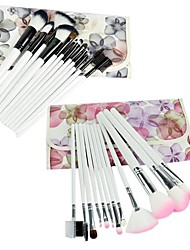 New Professional 12PCS Cosmetic Makeup Brush Set Make-up With Bag 16480