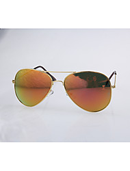 Geescen Мода Свет Отражение Color Film Солнцезащитные очки (золото)