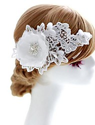Lace Wedding/Special Occasion Flowers With Rhinestone