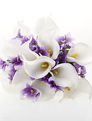 Satin Calla Lily Flower Wedding Bouquet(More Colors)