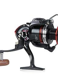 12 +1 BB roulements à billes gauche / droite interchangeable pliable Poignée moulinet spinning LK3000 5.2:1 (0.2mm/200m)