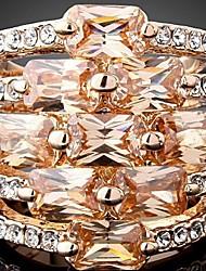 MEIN Legierung Edelstein-Ring
