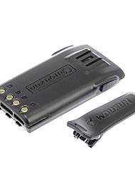 Wounxun Talkie Walkie Batterie - noir