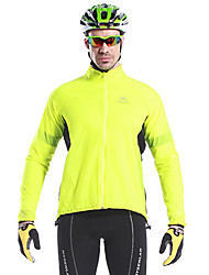 MYSENLAN Fluorescent Green Windproof Waterproof Cycling Jacket
