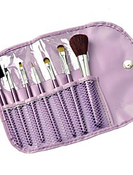 Professional Beauty Make up Set with Case Cosmetic Brush 7pcs Eye Face Kit Purse 4771