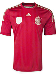 2014 World Cup World Cup Jerseys Spain Home Game Red (Climacool)