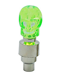 MOON Cool skull Series Green Cycling Taillight