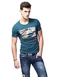 Été de mode Casual T-shirts U-requin hommes Sauvegarde shirt EOZY
