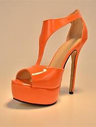 до н.э. со вкусом лакированной кожи женские шпилька платформы сандалии обувь