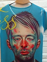 Джанни Мужчин 3D печать Клоун Pattern футболки
