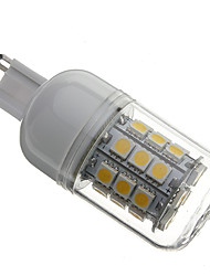 4W G9 LED Corn Lights T 30 SMD 5050 330 lm Warm White AC 110-130 / AC 220-240 V