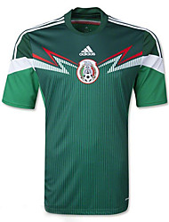 2014 World Cup World Cup Jerseys Mexico Home Game Green (Adizero)