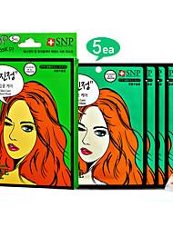 [SNP cosmétique] POP Troubled Soins de la peau Essence Cellulose naturelle Feuille Masque 25ml x 5ea