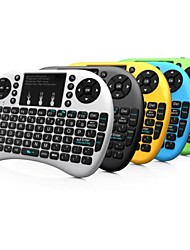 Rii mini i8 2.4G + 92 Llaves del teclado con el Touchpad para Google TV Box/PS3/PC