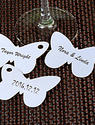 Place Cards and Holders Butterfly Shaped Place Card with A Hole - Set of 12