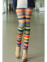 Women's Colorful Stripe Leggings