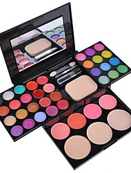 40 Lidschattenpalette Nass Lidschatten-Palette Puder Normal Alltag Make-up / Feen Makeup