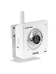 tenvis - mini-IP draadloze netwerk camera iphone / android / blackberry ondersteund (wit)