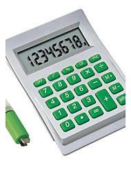 Eco Friendly 8 Digit Aqua Water Powered Calculator