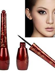 New Smooth Waterproof Liquid Eye Liner Beauty Make Up Black Eyeliner Cosmetic 6368