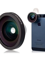 0.4X 140 Degree Super Wide Angle Lens for iPhone 5/5S/5C