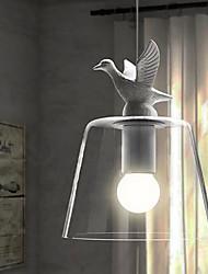 Pingente Pássaro Voando em forma