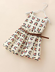 Girl's Dress Cotton Summer