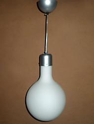 Form pendant, 1 light, contemporary globe minimalist glass painting