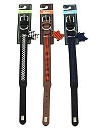 Chiwava Grade ajustável Valorizados coleira de couro