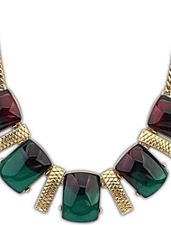 Angelasex Bohemia Exotic Green Color Necklace