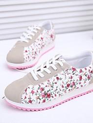Fabric Women's Low  Heel Comfort Fashion Sneakers Shoes(More Colors)
