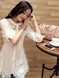женская позиция сетка длинный рубашка