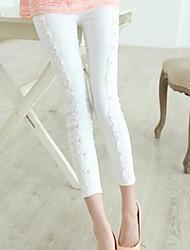 Women's Fashion Lace beads Pants