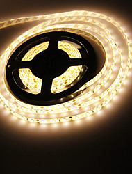 Waterproof 5M 120W 300x5630 SMD Warm White Light LED Strip Lamp (DC 12V)