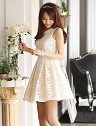 Women's Dresses , Lace Casual/Lace Sleeveless AI QILY