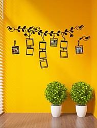Botanica The Bird Photo decorazione Versione Carino Wall Stickers