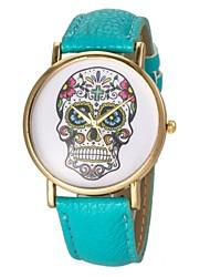 Women's Watch Fashion Skull Pattern