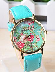 Omiya Women's PU Leather Wrist Watch DSC_0182