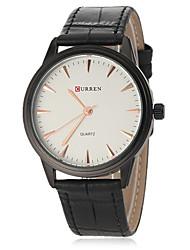 Hombre Reloj Cuarzo Japonés Reloj de Vestir Banda