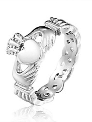 Brand Designer Ladies Claddagh Stainless Steel Skull Rings for Women 2014 New