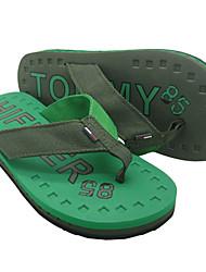 Quiksilver Men's Beach Sports Green Flip Flops TM02