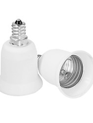 E12 tot E27 LED-lampen socket adapter
