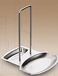 Stainless Steel Cooking Utensil and Lid Holder, L18.5cm x W15.5cm x H19.5cm