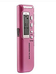 Grabadora de voz digital MP3 4G Rosa
