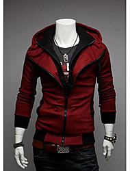 Lazer Moda New Sports com capuz Fleece Coats da Metal Empire Homens