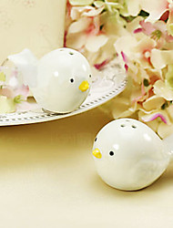 Love Birds Salz-und Pfefferstreuer in Cherry Blossom Gift Box, W6cm xL6cm xH3cm